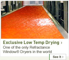 Exclusive Low Temp Drying